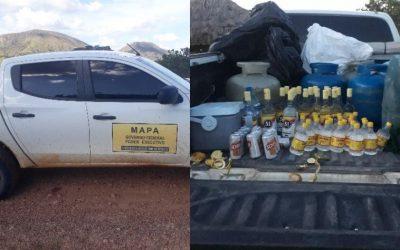 Veículo do MAPA é usado para transporte ilegal de bebidas alcoólicas na TI Raposa Serra do Sol