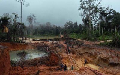 Em 11 anos o garimpo despejou no rio Tapajós a mesma quantidade de rejeitos do desastre de Mariana