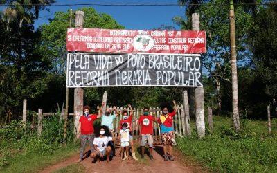 No Pará, famílias Sem Terra sofrem ameaça de despejo em plena pandemia