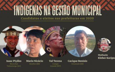 Demarcamos as urnas: Debate com prefeitos e vice prefeitos indígenas eleitos