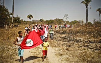 No Brasil, 250 mil famílias ainda lutam pelo direito à terra