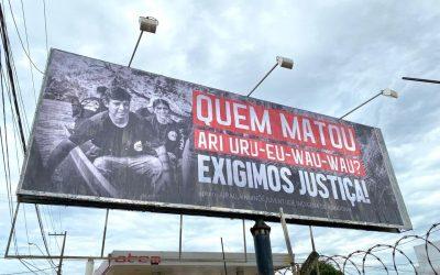 """""""Quem matou Ari?"""": indígenas querem que a Polícia Federal conduza investigação"""
