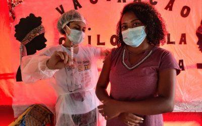 A vacina chegou no quilombo! Confira o relato de uma quilombola que foi vacinada no Pará