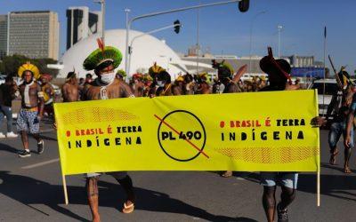 Lideranças alertam: se aprovado PL 490, Congresso decreta genocídio indígena