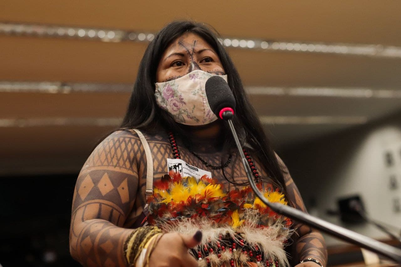Alessandra Korap (Munduruku) Foto_ Mídia NINJA