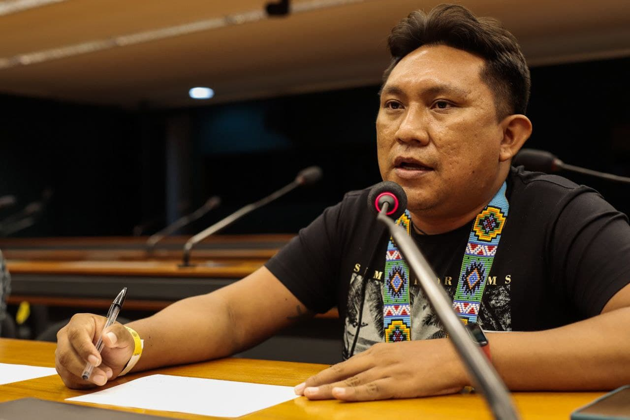 Dário Kopenawa Yanomami Foto_ Mídia NINJA