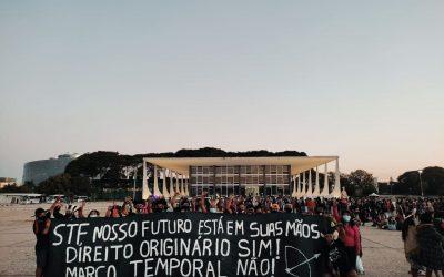 Mais de 160 mil pessoas assinam carta ao STF contra marco temporal e pedindo proteção dos direitos indígenas