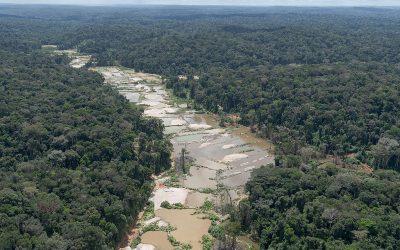 Pedidos de autorização para garimpo aumentaram 342% no Amazonas em 2020