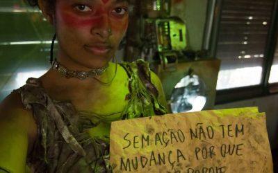 Amazônia em chamas: chatbot com personagens do futuro trata de questões climáticas urgentes